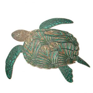 Aristurtle Turtle Metal Sticker Decal