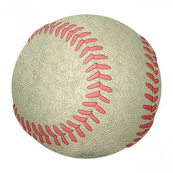 Baseball Metal Sticker Decal