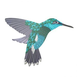 Buzz Hummingbird Metal Sticker Decal