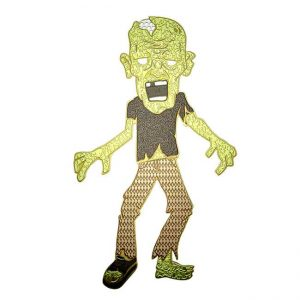 Franklin Zombie Metal Sticker Decal