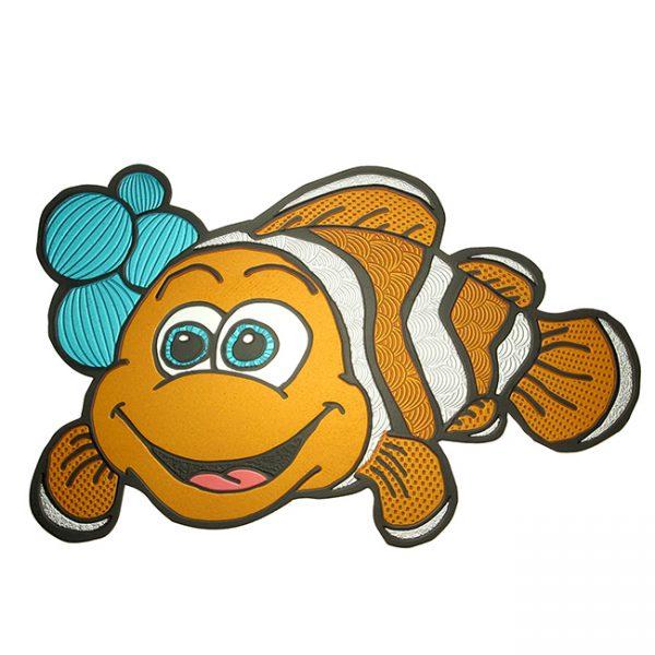 Clownfish - Metal Decal