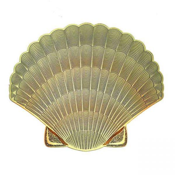 Seashell Seashell Metal Sticker Decal