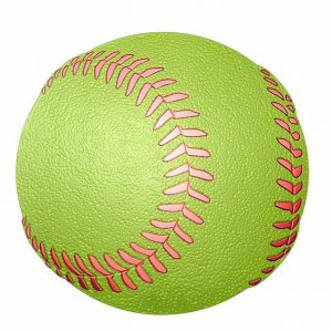 softball Metal Sticker Decal
