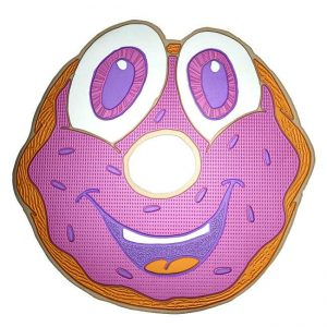 Sprinkles Donut Metal Sticker Decal